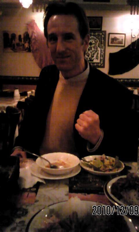 ランチはトルコ料理